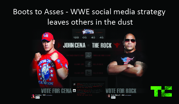 Boots to Asses – WWE social media strategy leaves others in the dust