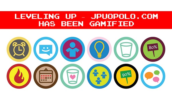Leveling Up – JPUOPOLO.COM has been Gamified – Experiments With Gamification