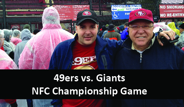 Giants vs. 49ers – NFC Championship Game