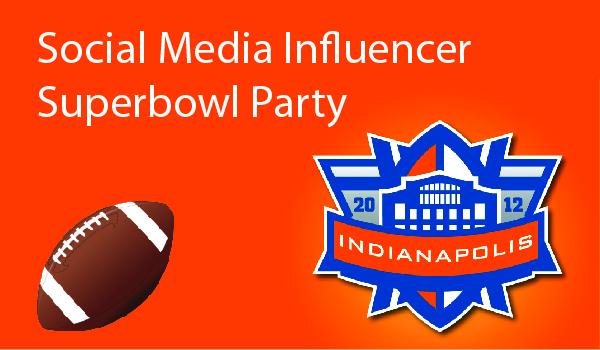 Social Media Influencer Superbowl Party