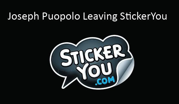 Joseph Puopolo Leaving StickerYou