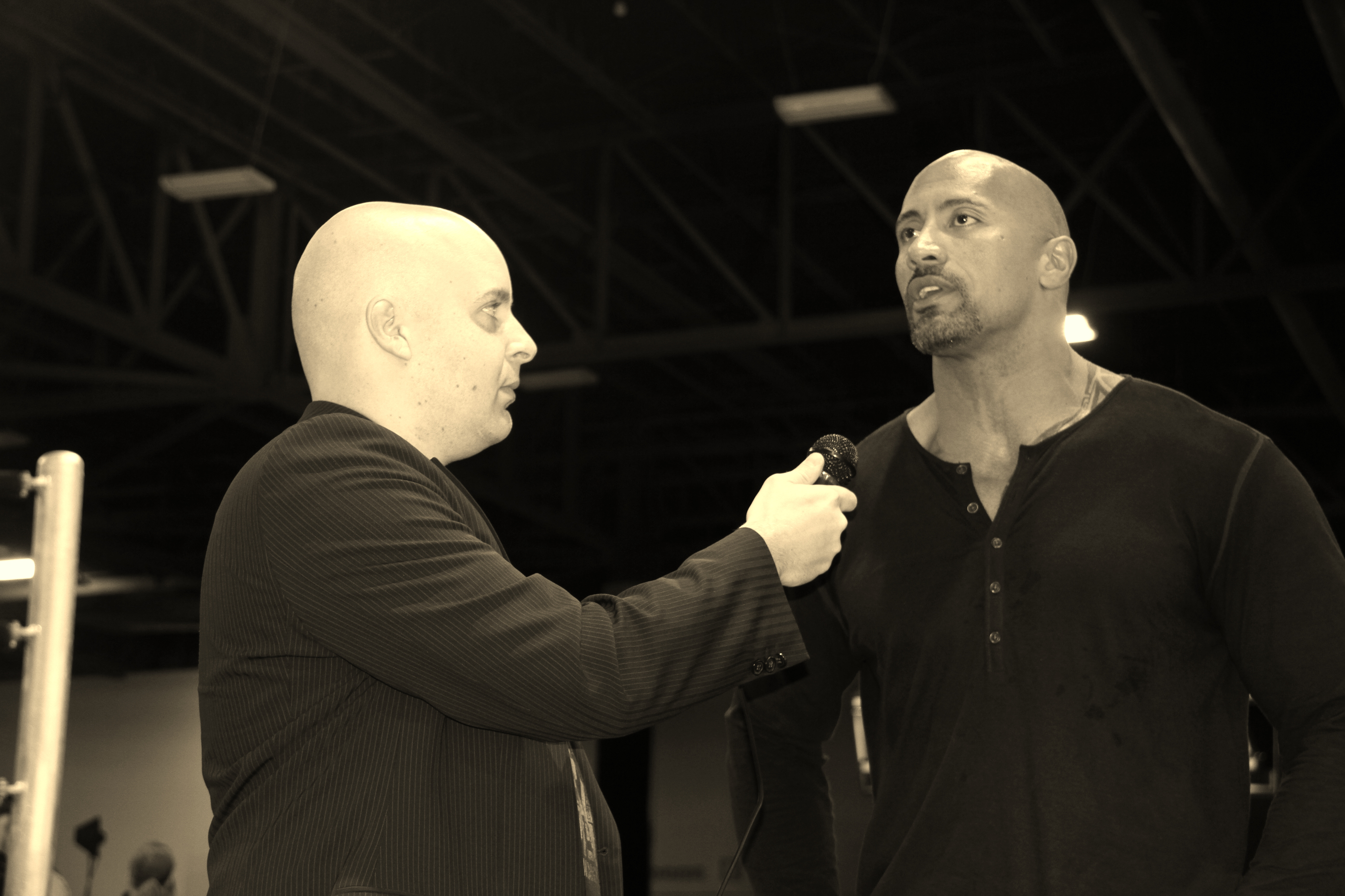 """Dwayne """"The Rock"""" Johnson On Social Media And His Favorite Tech"""